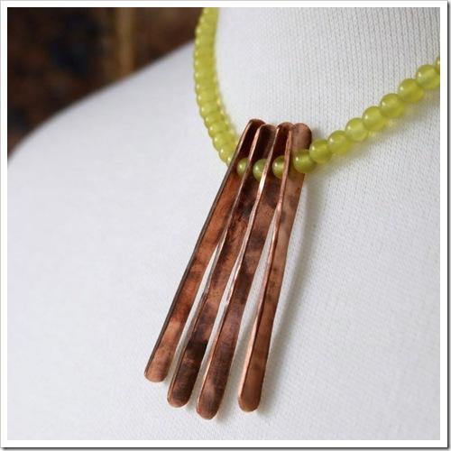 Peridot & Copper Necklace_02