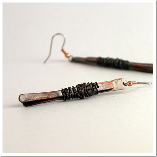 Hammered Copper Earrings_16