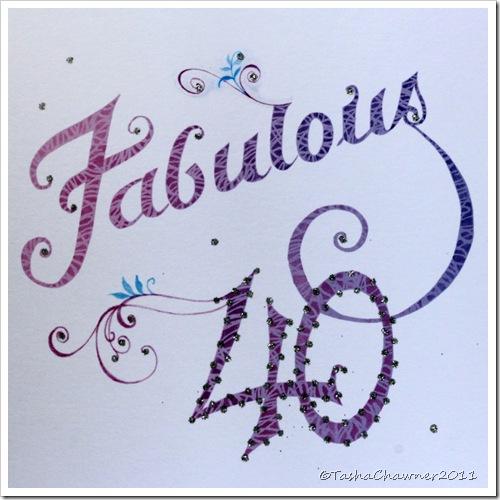Day 121 - Fabulous 40
