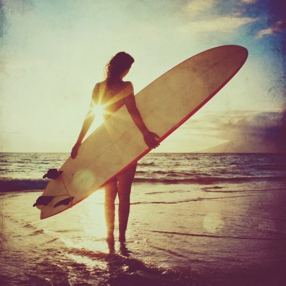 Lake House Interior Design: {beautiful To Me} Surfer Girl At Sunset