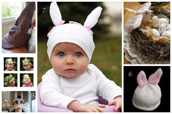 Diy tuesday easter hat template collection tasha chawner for Easter bunny hat template