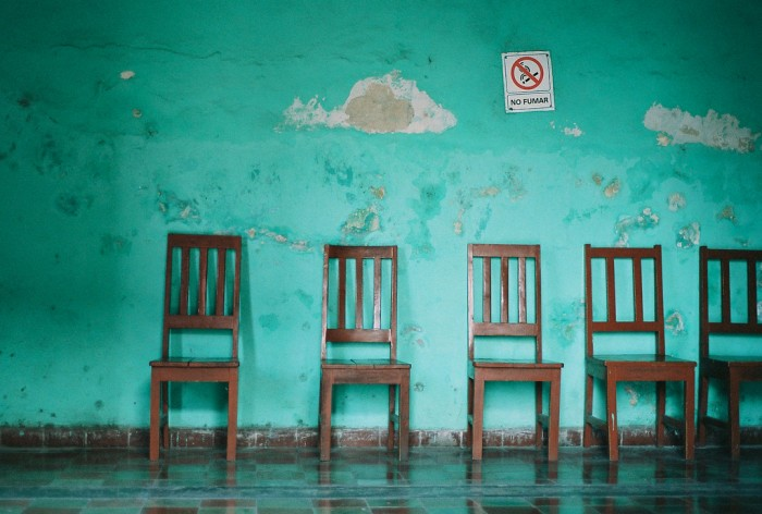 Doctor's Office Waiting Room by Berlyjen on Flickr