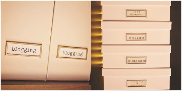 my gloss white philosophy storage boxes