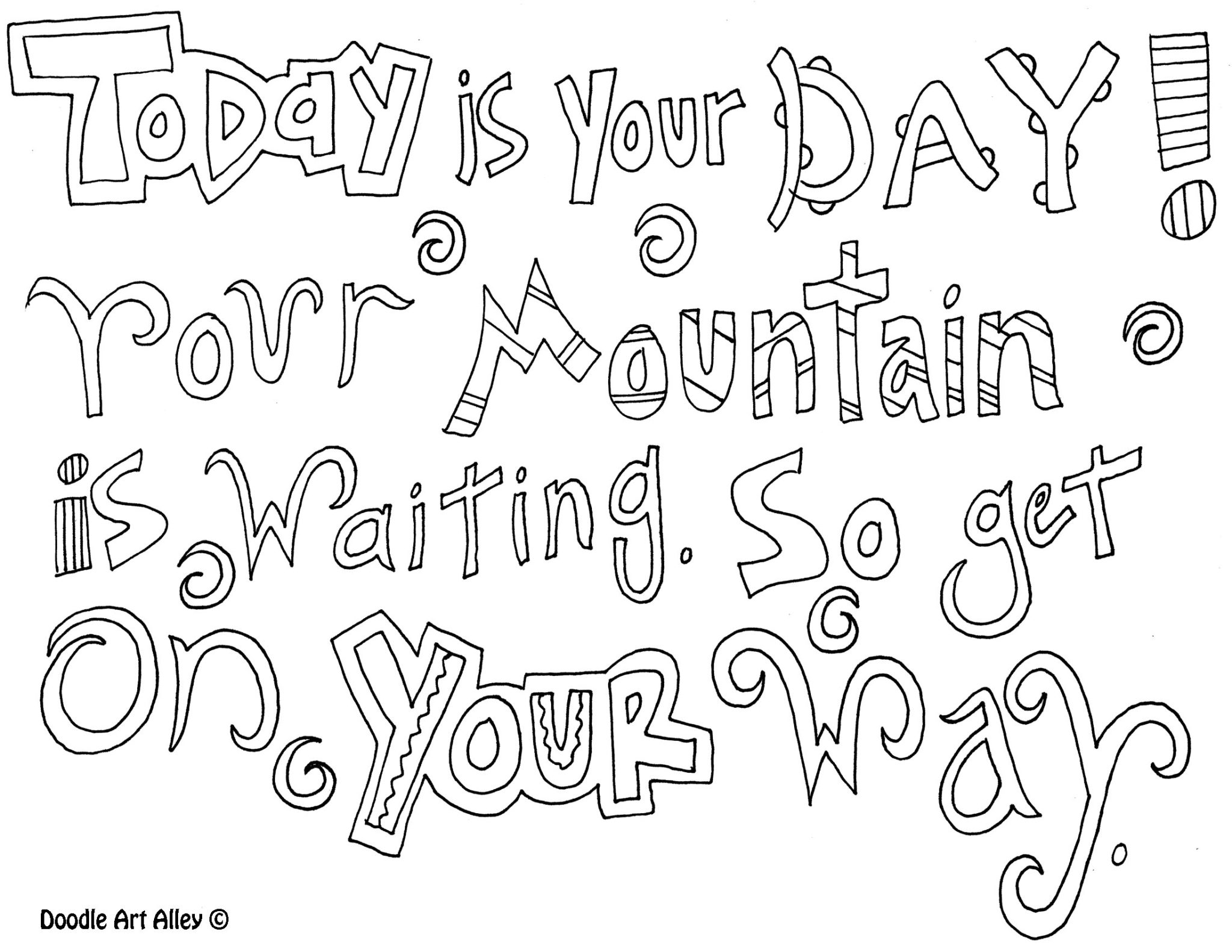 Be Inspired Wet Winter Afternoon Colouring In With The Coloring Pages With Quotes