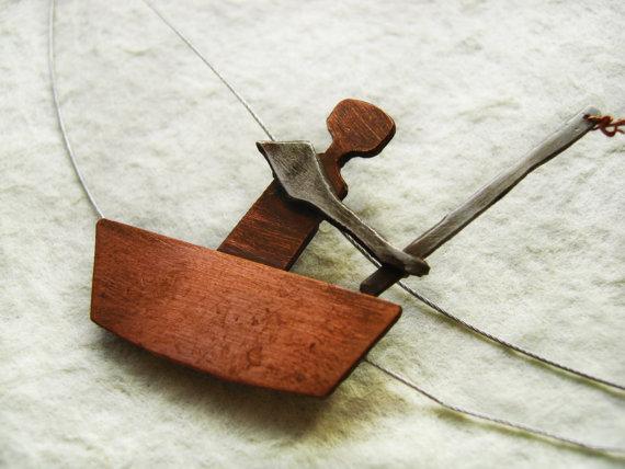 Go Fishing Necklace