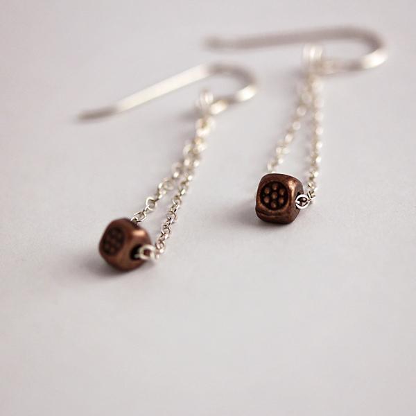 delicate-sterling-silver-chain-earrings