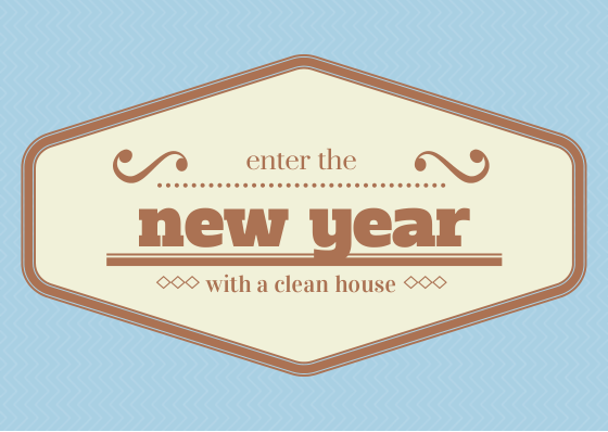 new-year-clean-house