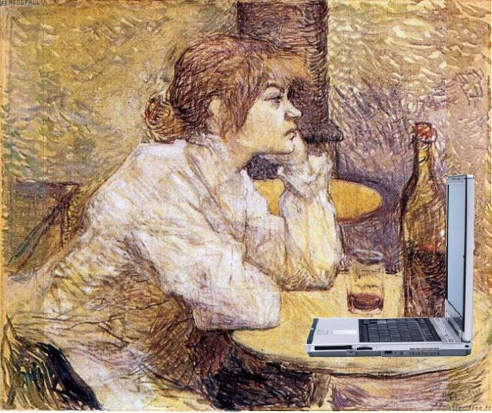 Suzanne Valadon Blogging from Mike Licht on Flickr