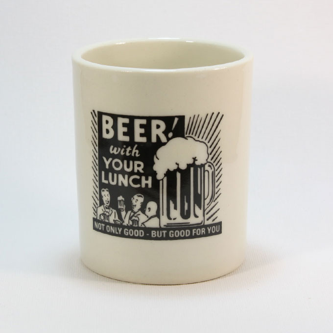 beer-with-your-lunch-ceramic-pot