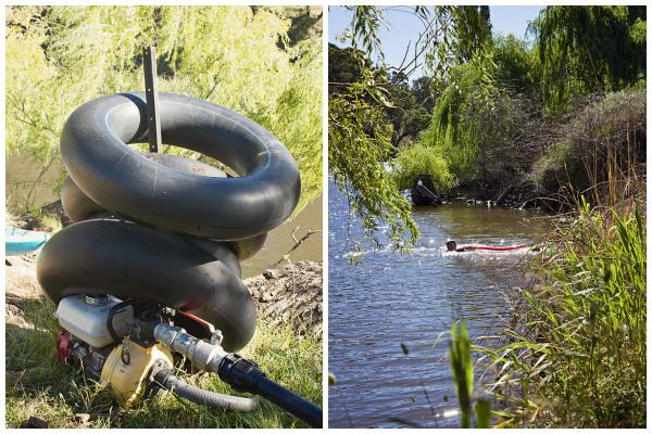 Inner tube flotation aids and kids swimming