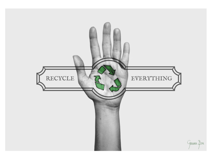 Recycle Everything poster