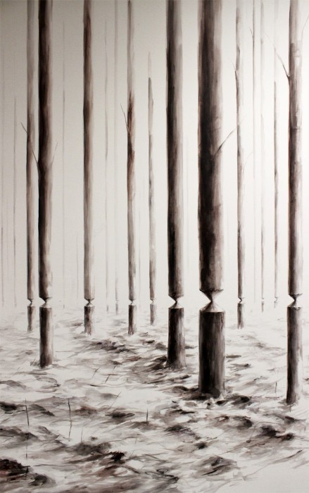 balanced forest pejac 439x700 {beautiful to me} Pejac