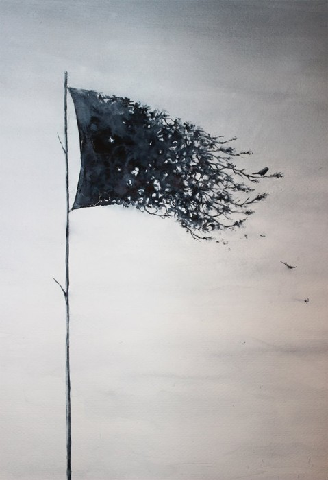 mi unica bandera pejac 479x700 {beautiful to me} Pejac