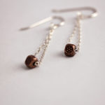 copper-bead-and-sterling-silver-chain-dangle-earrings-2