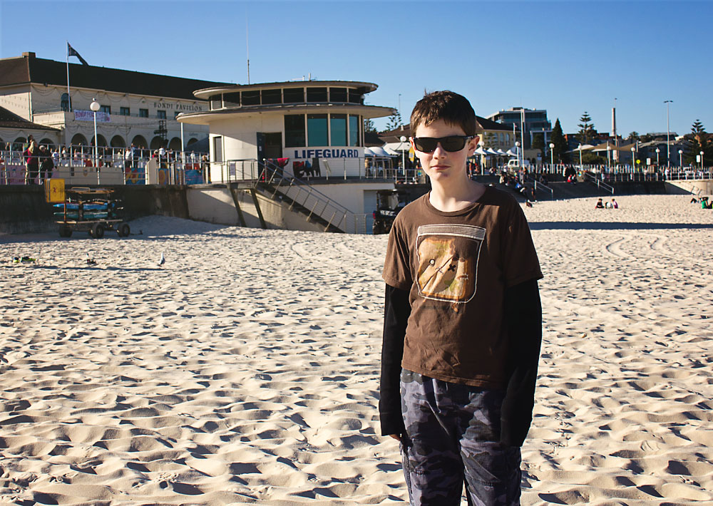 Visiting Bondi Beach and the Bondi Rescue life guard tower