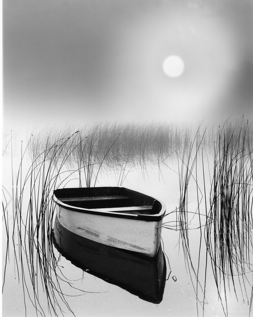 simplicity and reflection - Solitude by Jacques Gauthier