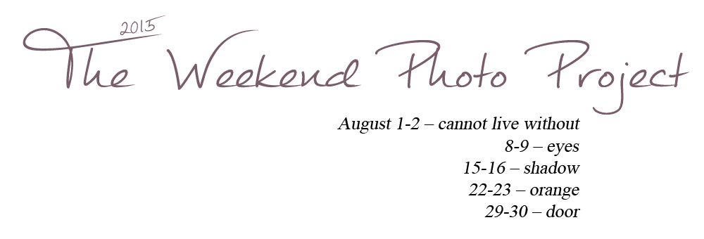 The Weekend Photo Project - August