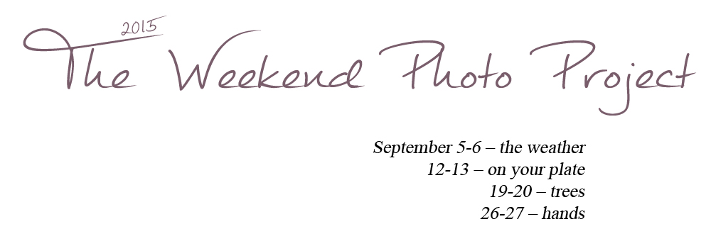 The Weekend Photo Project - September