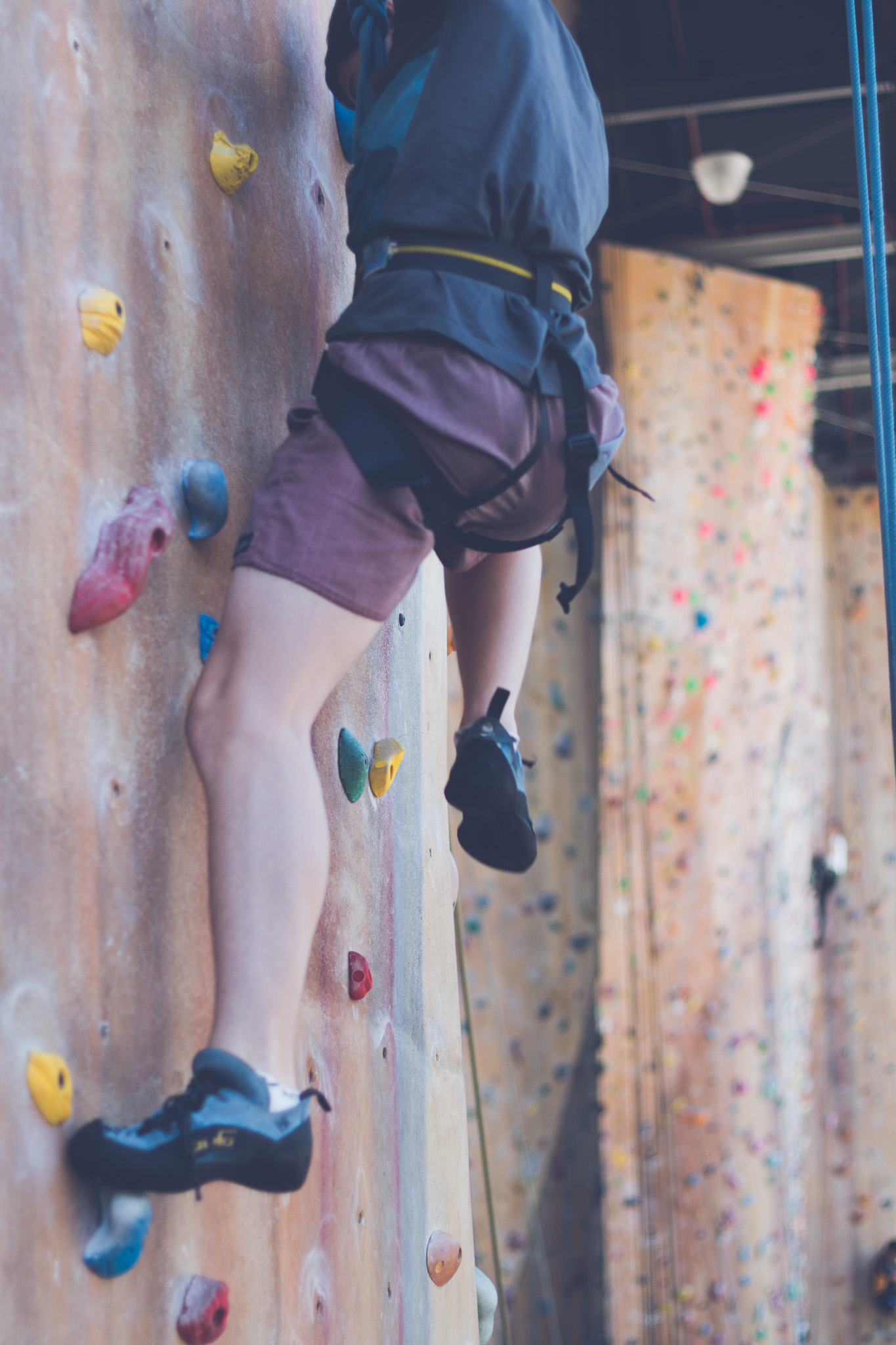 Mum, I want to be a rock climber